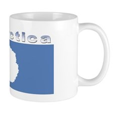 Antarctic flag Mug