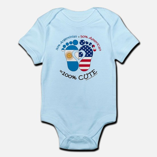 Argentinian American Baby Infant Bodysuit