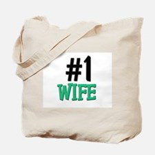 Number 1 WIFE Tote Bag