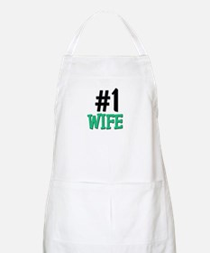 Number 1 WIFE BBQ Apron
