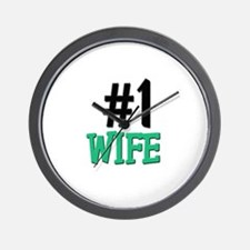 Number 1 WIFE Wall Clock