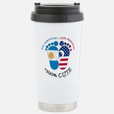 Argentinian American Ba Stainless Steel Travel Mug