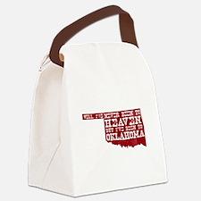 Unique Tulsa Canvas Lunch Bag