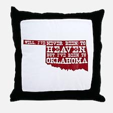 Cute Oklahoma sooners Throw Pillow