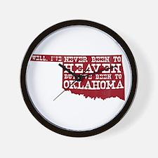 Cute Tulsa Wall Clock