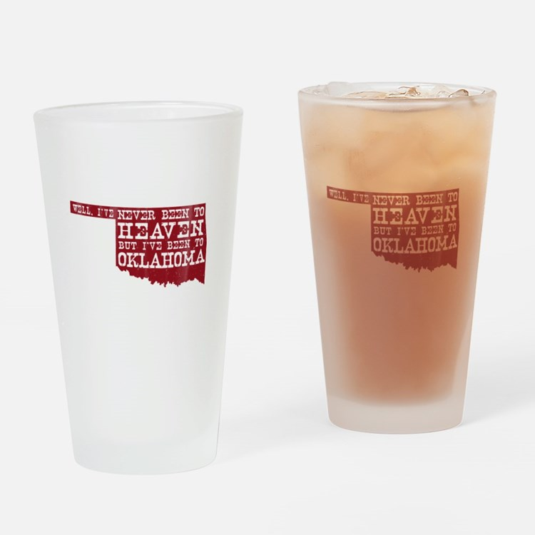 Cute Oklahoma sooners Drinking Glass