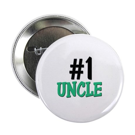 """Number 1 UNCLE 2.25"""" Button (10 pack)"""