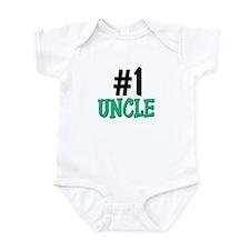 Number 1 UNCLE Infant Bodysuit