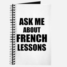Ask me about French lessons Journal
