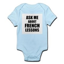 Ask me about French lessons Body Suit