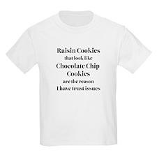 Raisin Cookies that look like Chocolate Chip Cooki