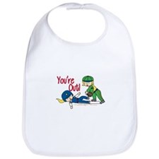 Youre Out! Bib