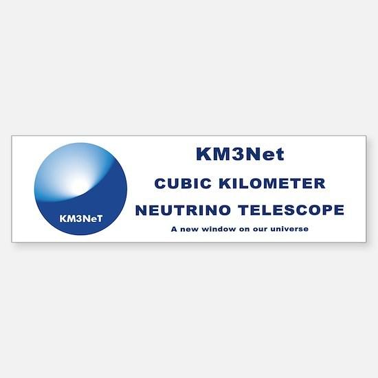 KM3NeT Sticker (Bumper)