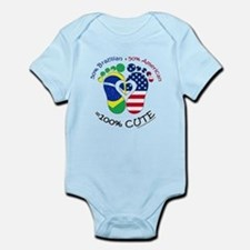 Brazilian American Baby Infant Bodysuit