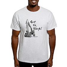 Excavator Operators T-Shirt