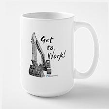 Excavator Operators Mugs