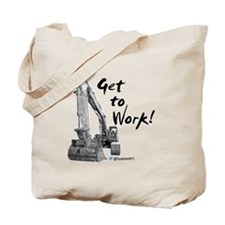 Excavator Operators Tote Bag