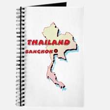 Thailand Map Journal