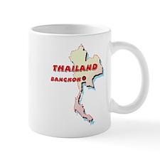 Thailand Map Coffee Mug