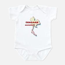 Thailand Map Infant Bodysuit