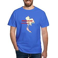 Thailand Map T-Shirt