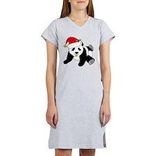 Christmas Panda Women's Nightshirt