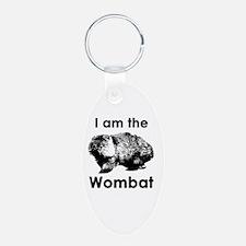 I am the Wombat  Keychains
