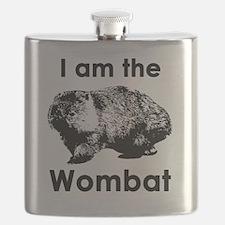 I am the Wombat  Flask