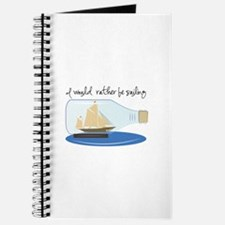 I Would Rather be Sailing Journal