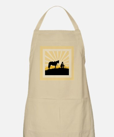 Praying Cowboy Apron