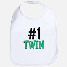 Number 1 TWIN Bib