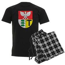 Eagle with shield 3 Pajamas