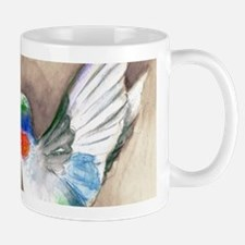 Hummingbird Flower Mugs