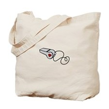 Heart Whistle Tote Bag