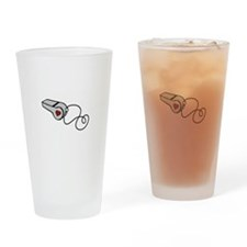 Heart Whistle Drinking Glass