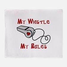 My Whistle Throw Blanket
