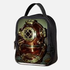 Nautical Diving Helmet Neoprene Lunch Bag