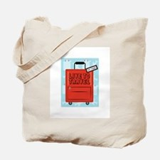 Live to Travel Tote Bag