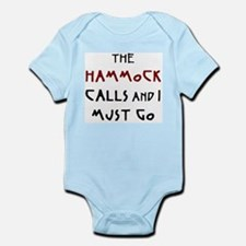 hammock calls Infant Bodysuit