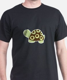 Green Mod Dot Turtle T-Shirt