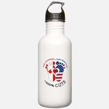 Canadian American Baby Sports Water Bottle
