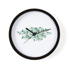 Sardines Wall Clock