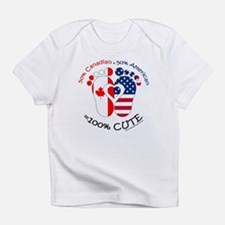 Canadian American Baby Infant T-Shirt