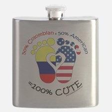 Colombian American Baby Flask