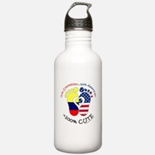 Colombian American Bab Water Bottle
