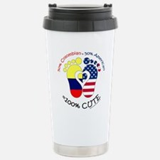Colombian American Baby Stainless Steel Travel Mug