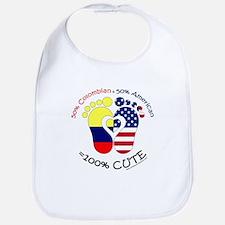 Colombian American Baby Bib
