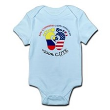 Colombian American Baby Infant Bodysuit