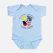 Colombian American Baby Infant Bodysuit