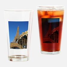 Eiffel Tower Carousel Drinking Glass